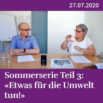 Sommerserie Teil 3_ «Etwas für die Umwelt tun!» – Horizonte Aargau